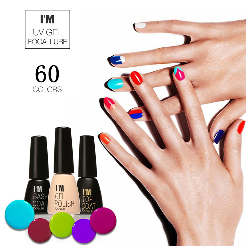 Brand 60 Colors Fast Dry Uv Gel Nail Polish Long Lasting Sock Off Nails Base And Top Coat Art Pen 7ml In From Beauty Health On
