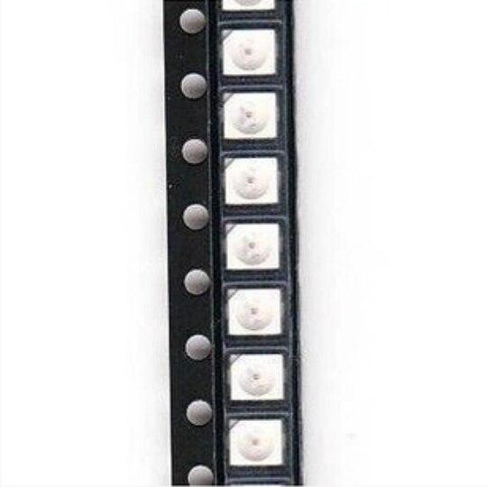 Оптовая Новый Топ Мода <font><b>Led</b></font> 100 шт. 5050 Smd Синий Plcc-6 3-чипов светодиодов Высокой <font><b>Mcd</b></font> Ultra Bright сид Качества