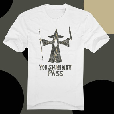 Shirts Rings You Lord Shall Pass Men Couples Not Of The T Shirt UVGMSqzLp