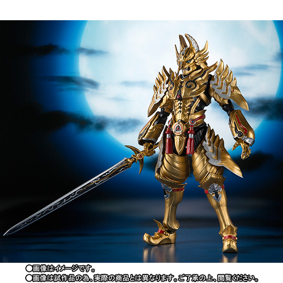 Japan Anime GARO Original BANDAI Tamashii Nations S.H. Figuarts / SHF Exclusive Action Figure - Garo RAIKOU Ver. original bandai tamashii nations robot spirits exclusive action figure rick dom char s custom model ver a n i m e gundam
