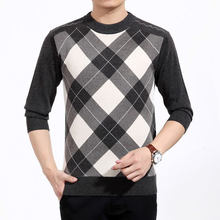 Hot Sale Autumn Winter Men Pullovers Sweater long Sleeve Men Thick Warm Loose Soft Knitting Sweater O-Neck Good Quality