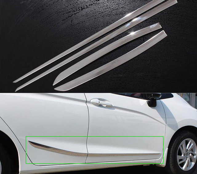 Sunfada Stainless Steel Car Door Side Body Decoration Trim Car