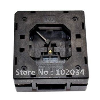 100% NEW  790-61028 QFN28 0.4MM IC Test Socket / Programmer Adapter / Burn-in Socket(790-61028-101T) crystal probe oscillator test socket burn in socket for 7050 4pin crystal size 7 0x5 0mm xo crystal test socket burn in socket