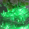 EU Plug 9 Colors 100 LED 10M String Fairy Lights Lamps Outdoor Lighting Party Supplies Christmas Wedding Decoration #KF