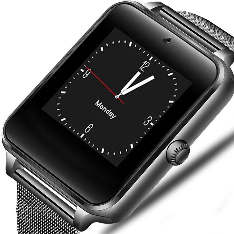 Astuto Della Vigilanza del Android GT08 Orologio Con Slot Per Sim Card Push Messaggio Connettività Bluetooth Telefono Android PK DZ09 Smartwatch Z60 2019