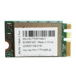 BCM943142Y dla Broadcom Wireless bezprzewodowa sieć lan karta wifi + Bluetooth 4.0 NGFF 2230 BRCM1079 802.11b/g/n dla Dell