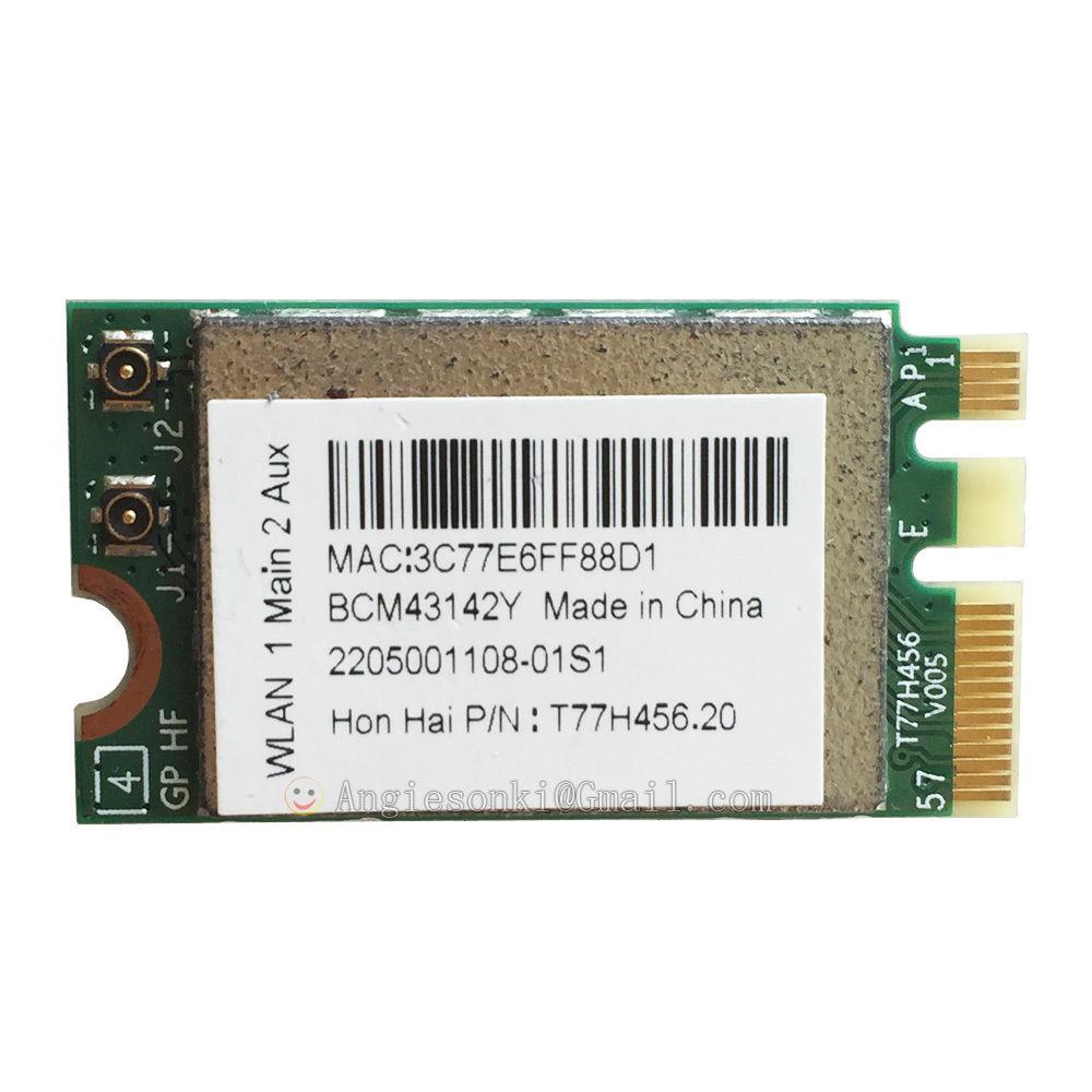 BCM943142Y For Broadcom Wireless WLAN WIFI Card + Bluetooth 4.0 NGFF 2230 BRCM1079 802.11b/g/n For Dell