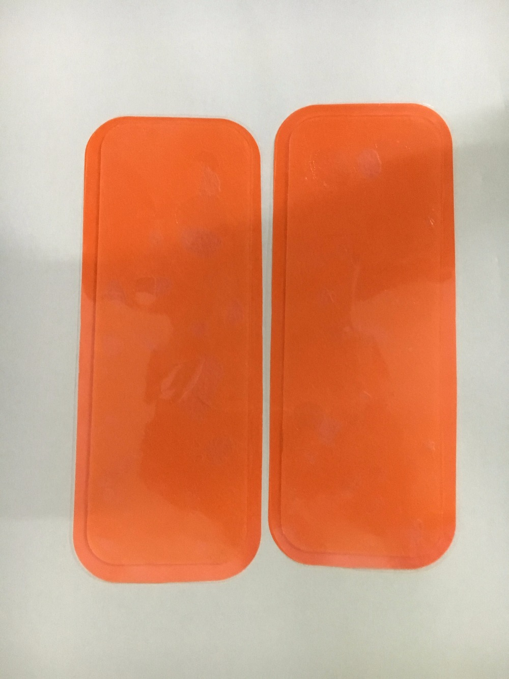 20pcs rectangle conductive gel pads sheet for EMS Trainer Weight Loss Abdominal Body abs Fit Gel