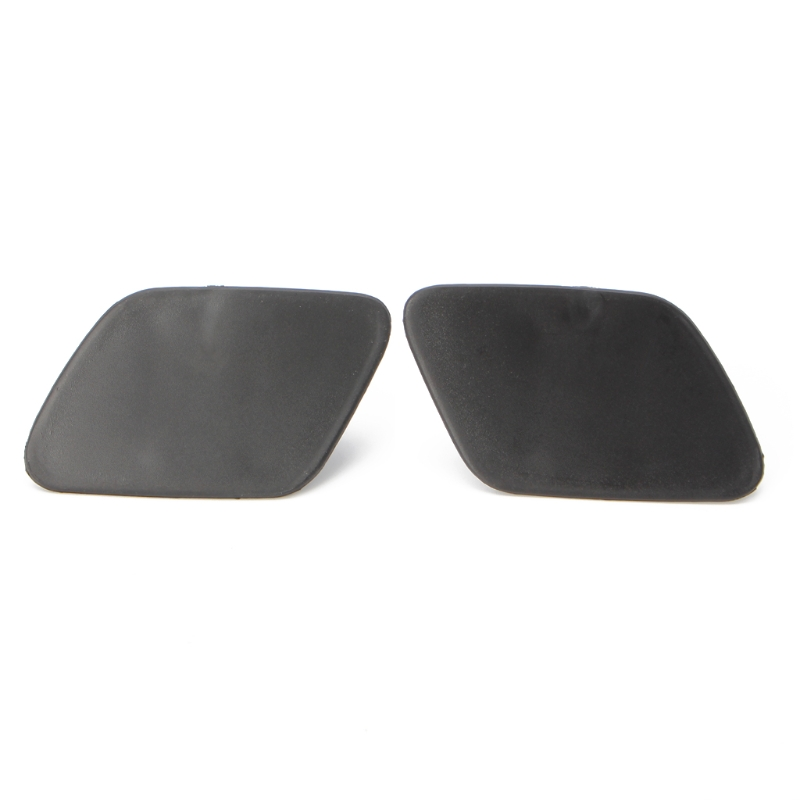 1Pair Car Front Left Right Headlight Washer Jet Spray Nozzle Cap Cover For BMW X5 E70 Styling