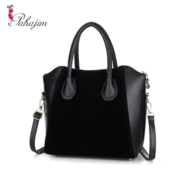 Hot Sale! Bag fashion bags 2017 pu leather women's handbag smiley shoulder bags free shipping