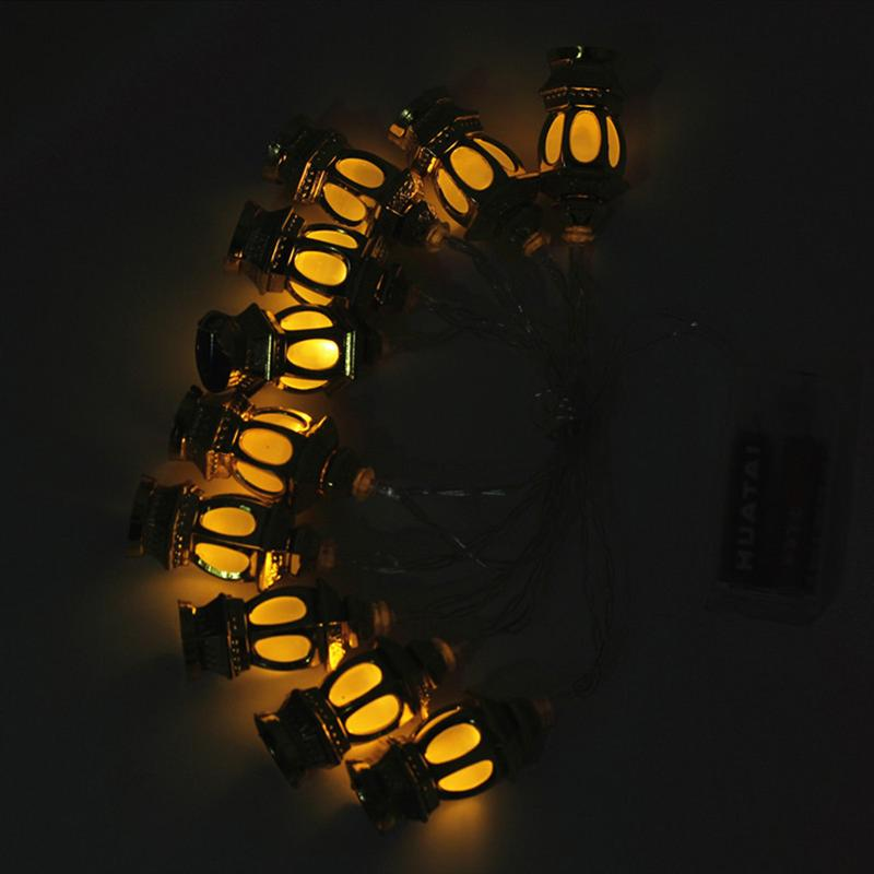 Image 5 - LED Muslim Ramadan Lanterns String Lights Eid Light Decoration 