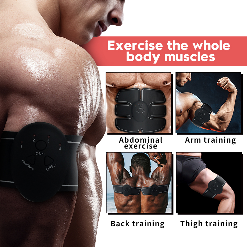 Abdominal Belly Leg Arm E-PERSONAL Muscle Trainer 2