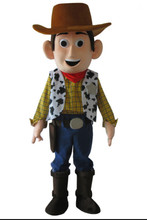 Cowboy Woody Mascotte Kostuum Toy Story Sheriff Woody Fancy Dress Gratis Verzending