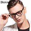 Homens Óculos Ópticos Donna Praça Limpar Lens Óculos de Leitura Quadro Rebite Quadros Ultra-leves DN32