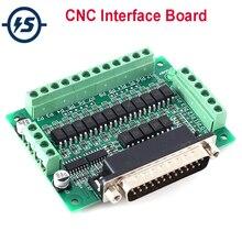 Tabla de Interface CNC, convertidor de aislador óptico, compatible con KCAM4/EMC2/Linuxcnc
