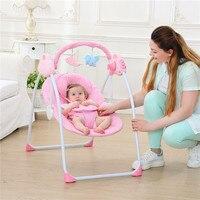 Cunas Para Bebes многофункциональная интеллектуальная электрическая портативная детская кроватка музыка Bluetooth детская кроватка колыбель кресло