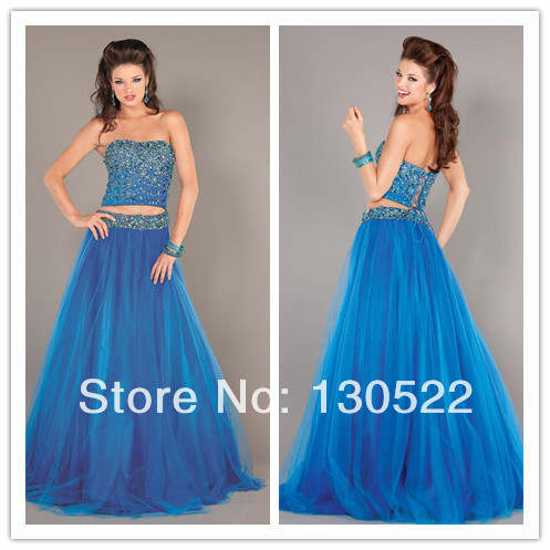 945897342d ED-1427 Stunning two piece indian style dresses new fashion prom dresses