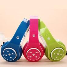 Plegable Auriculares Inalámbricos Bluetooth Fone De Ouvido Auricular de la Venda FM Apoyo TF Reproductor de MP3 Auriculares