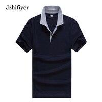 סיטונאי מפעל משלוח חינם tc 65% פוליאסטר + כותנה 35% 180 גרם רגילים קצר האופנה גברים שרוול polo camisa חולצת masculino polo