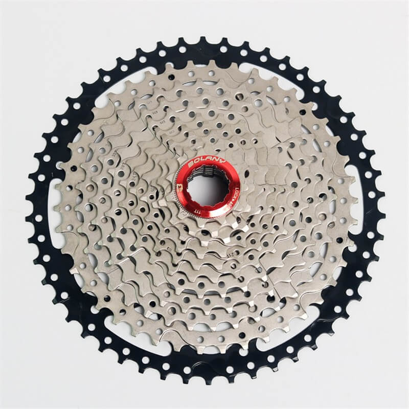 BOLANY Bike Bicycle Freewheel 11 Speed 11-50T MTB Mountain Road Bike Steel Casette Flywheel Freewheel Wide Ratio Gray sunshine 11 speed 11 42t cassette bicycle freewheel mtb mountain road bike bicycle wide ratio freewheel steel climbing flywheel