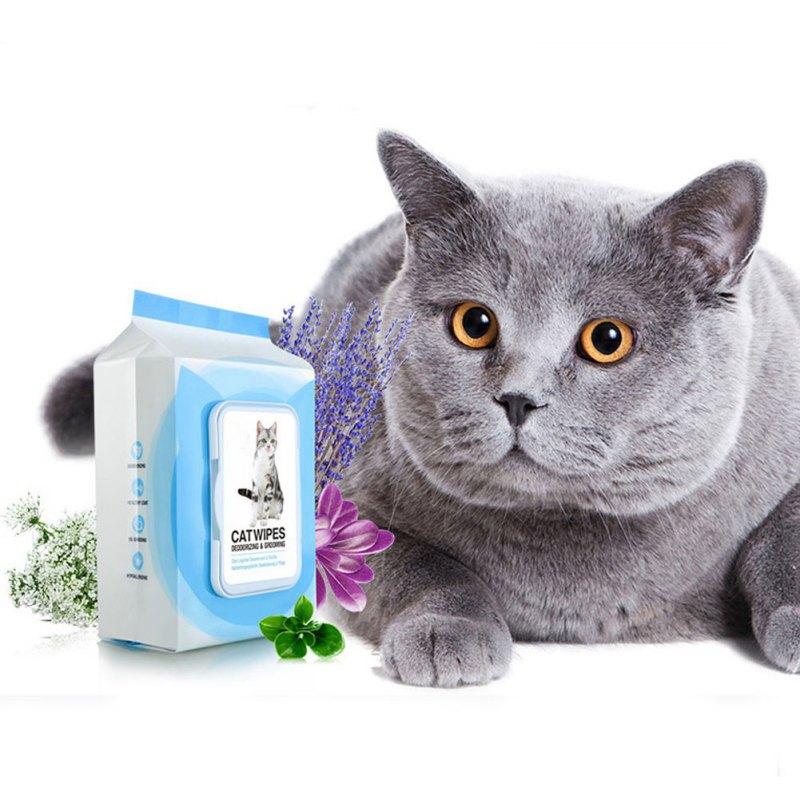 Купить с кэшбэком 25pcs/set Pet Soft Grooming Wet Wipes Clean Disinfection Tissue Pet Dogs Clean Pets Towel Pet Grooming Cleaning Supplies PY