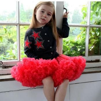 Girls Tutu Skirt Clothing Pettiskirt Fluffy Tutus Ballet Dance Princess Party Skirts Solid Kids Baby Girl Tutu Skirts Childer  1