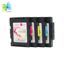 Winnerjet 5 Sets Show Ink Level Cartridge with Sublimation and Single Use Chip for SAWGRASS VIRTUOSO SG800
