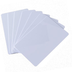 50pcs/Lot RFID Card 13.56Mhz MF S50 Proximity IC Smart Card  Tag 0.8mm Thin For Access Control System ISO14443A
