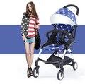 Детские коляски флаг звезды pattern коляски портативный Детская Коляска складной горячая Мамочка складной коляски качество poussette дешевой цене