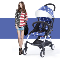 Baby carriage flag stars pattern prams portable Baby Stroller foldable hot Mommy folding stroller quality poussette cheap price