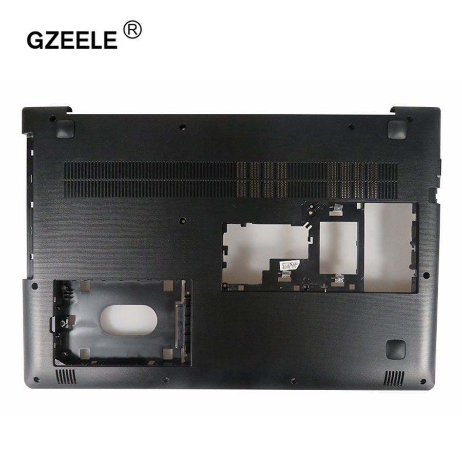 GZEELE New For lenovo ideapad 510-15 510-15ISK 510-15IKB -15 -15ISK -15ABR Lower laptop Bottom Case Cover AP10T000C00