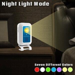 Image 5 - Kerui ワイヤレス警報システム 32 トーン歓迎/ドアベル//夜の光ホストと人フロー統計アプリ制御 wifi ドアベル