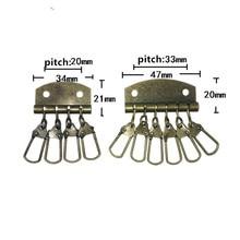 Bronze Tone Keychain Hook,For DIY Accessories