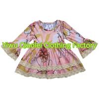2017 Summer Persnickety Girls Dress Wholesale Children S Boutique Clothing Floral Kids Clothes