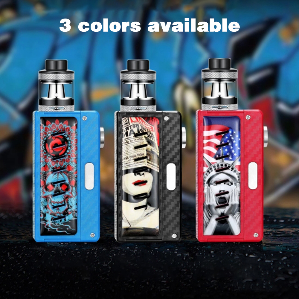 DOTENT Charm Night Electronic Cigarette 510 Thread 2ml Atomizer 18650 Battery Mechanical Mod Vape Kit for Start Vaper
