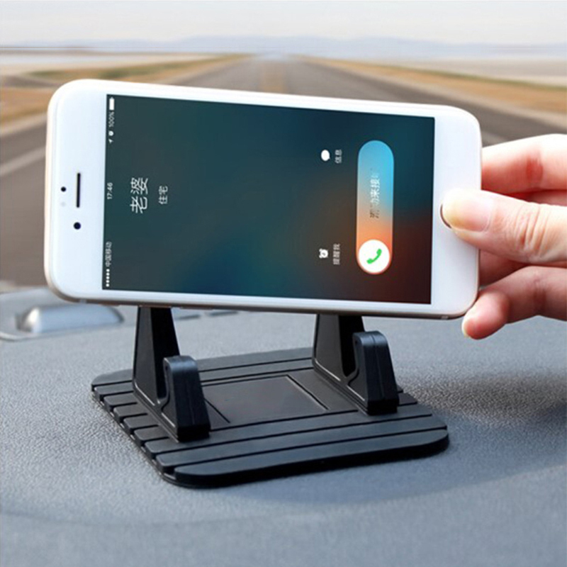Car Phone Holder For Phone In Car Mobile Support Dashboard Mount Stand For Iphone 7 8 X Tablet And Smartphone Suporte Telefone