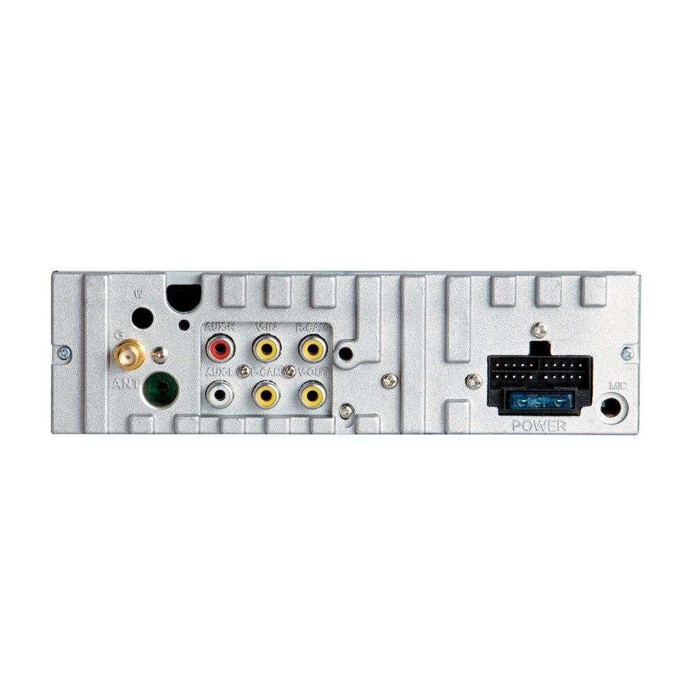 Lecteur dvd de voiture KANOR 1 din navigation gps cd mp3 mp5 usb sd Bluetooth 1DIN structure télescopique écran lecteur multimédia de voiture - 6
