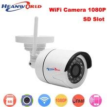 Heanworld outdoor 1080P IP Camera Wireless Wifi HD IR night vision Onvif waterproof security bullet network web camera