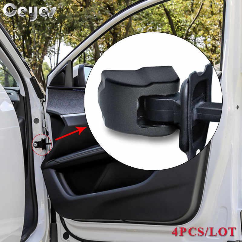 Ceyes רכב מנעול דלת פקק הגבלה זרוע אבזמי רכב כיסוי Trim עבור פיג 'ו 3008 2008 508 סיטרואן C3-XR C3 האליזה משלוח חינם