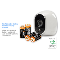 4pcs UL&FCC Certified 700mAh RCR123A rechargeable protected batteries for Netgear Arlo HD Cameras and Reolink Lithium ion