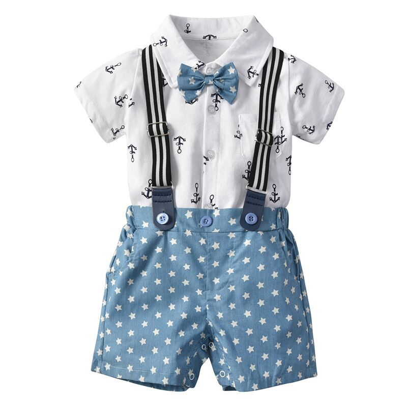 Dropship Toddler boys Kids Children Infant Baby Shirt 2pc Suit Bow tie Short Sleeve Suit little Gentleman Wedding Clothing SetDropship Toddler boys Kids Children Infant Baby Shirt 2pc Suit Bow tie Short Sleeve Suit little Gentleman Wedding Clothing Set