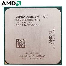 AMD Athlon II X4 750 K разъем FM2 100 W 3,4 GHz 904-pin четырехъядерный процессор cpu настольный процессор X4 750 k разъем fm2