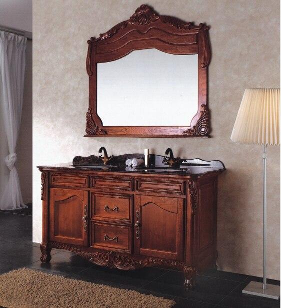 Salle de bains cabinet avec grande taille miroir designer couleur ...