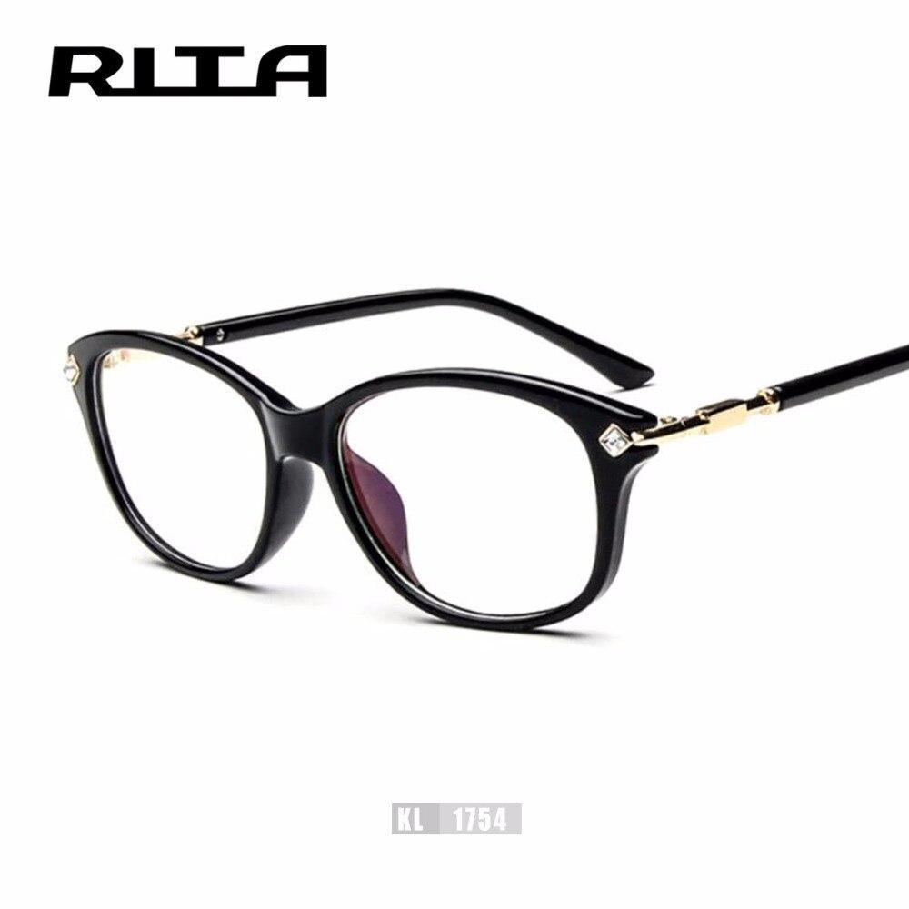 2017 RITA Mode oculos feminino Strass Brillen Rahmen Frauen Optische ...