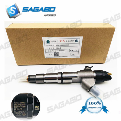 100% original new Common rail injector 0445120357 0445 120 357 for HOWO VG1034080002