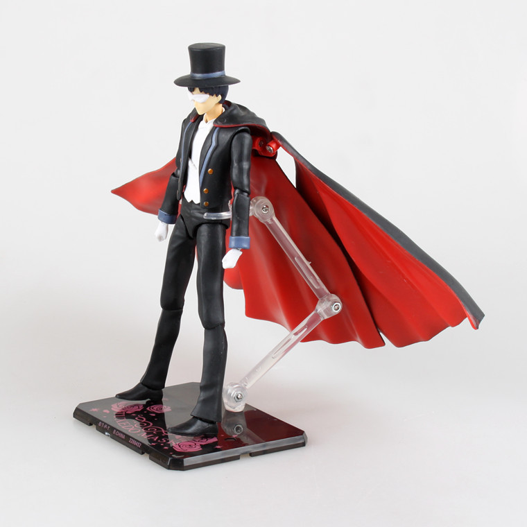 New SHFiguarts Sailor Moon Tuxedo Mask Chiba Mamoru PVC Action Figure  Collectible Model Toy-in Action   Toy Figures from Toys   Hobbies on  Aliexpress.com ... 1ca1840a7553
