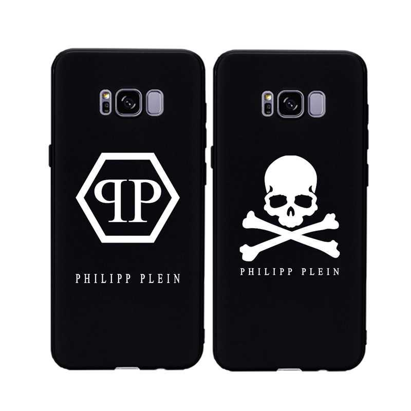 08a22dade8 Luxury PHILIPP Skull Plein Soft Case For Samsung Note 9 8 S9 Plus S8 Plus S7