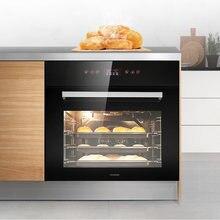 Бытовая встроенная электрическая духовка 70l пекарь многофункциональная
