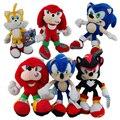 Новый FS Sonic The Hedgehog Shadow Хвосты Knuckles ехидна Миль Prower Хвосты Плюшевые Куклы Рисунок Игры SEGA Аниме Игрушки для Детей Подарки