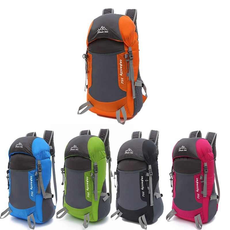 Foldable Backpack Super Soft Skin Pack Travel Backpack Outdoor Trekking Climbing Mountain Travel Waterproof Hiking Backpack